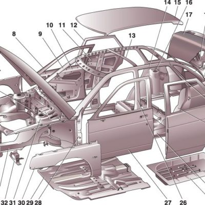 Кузов и комплектующие ВАЗ 1118 Калина