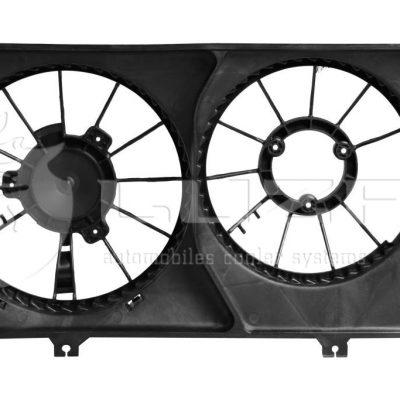 Кожух на вентилятор охлаждения радиатора ВАЗ 2170 Halla