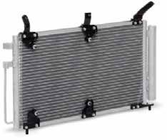 Радиатор кондиционера на ВАЗ 1118 PANASONIC с ресивером