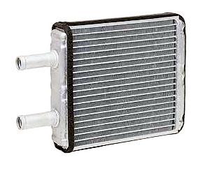 Радиатор отопителя 1118/2170 с кондиционером HALLA алюминиевый-паяный